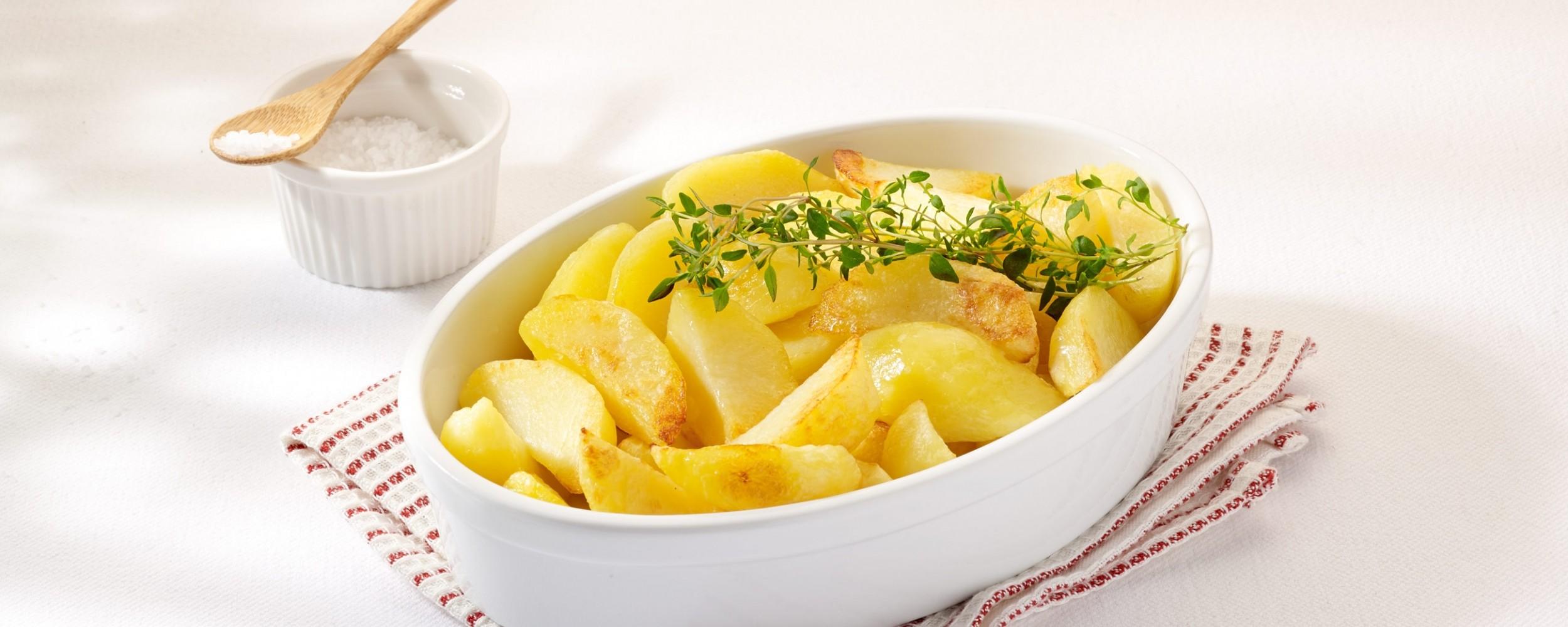 Potato quarters