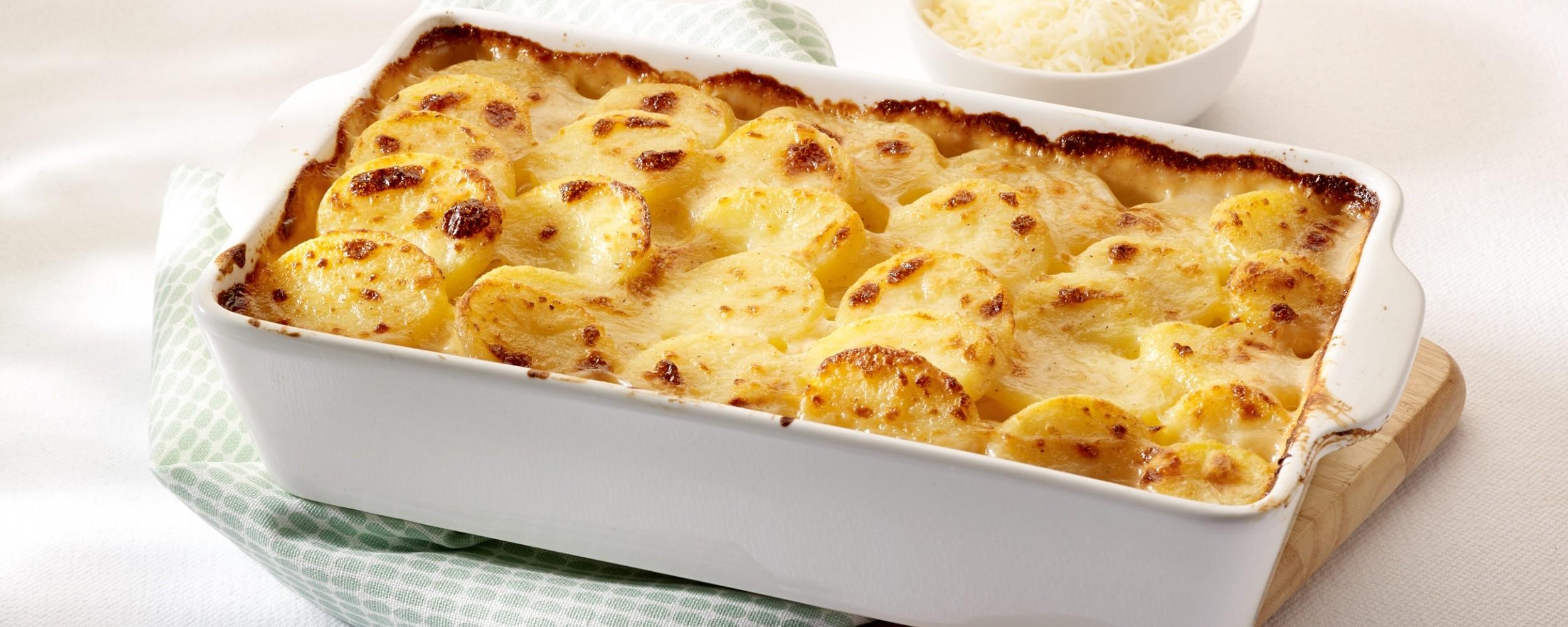 Pommes de terre en gratin