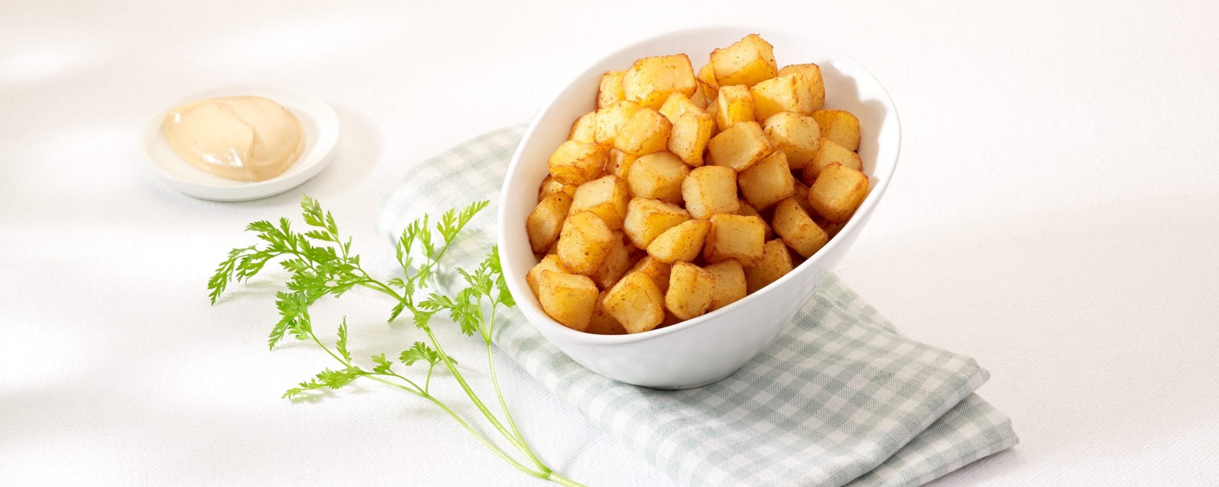 Pommes de terre en cubes