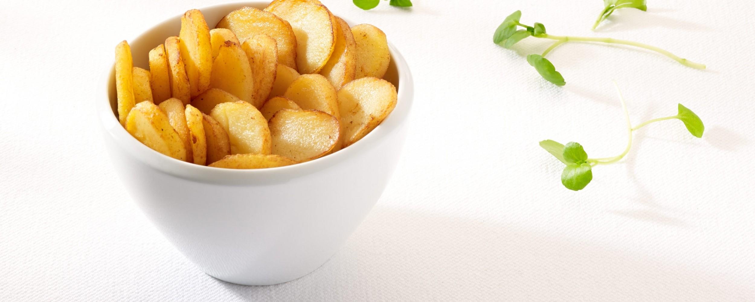 Pommes de terre en lamelles