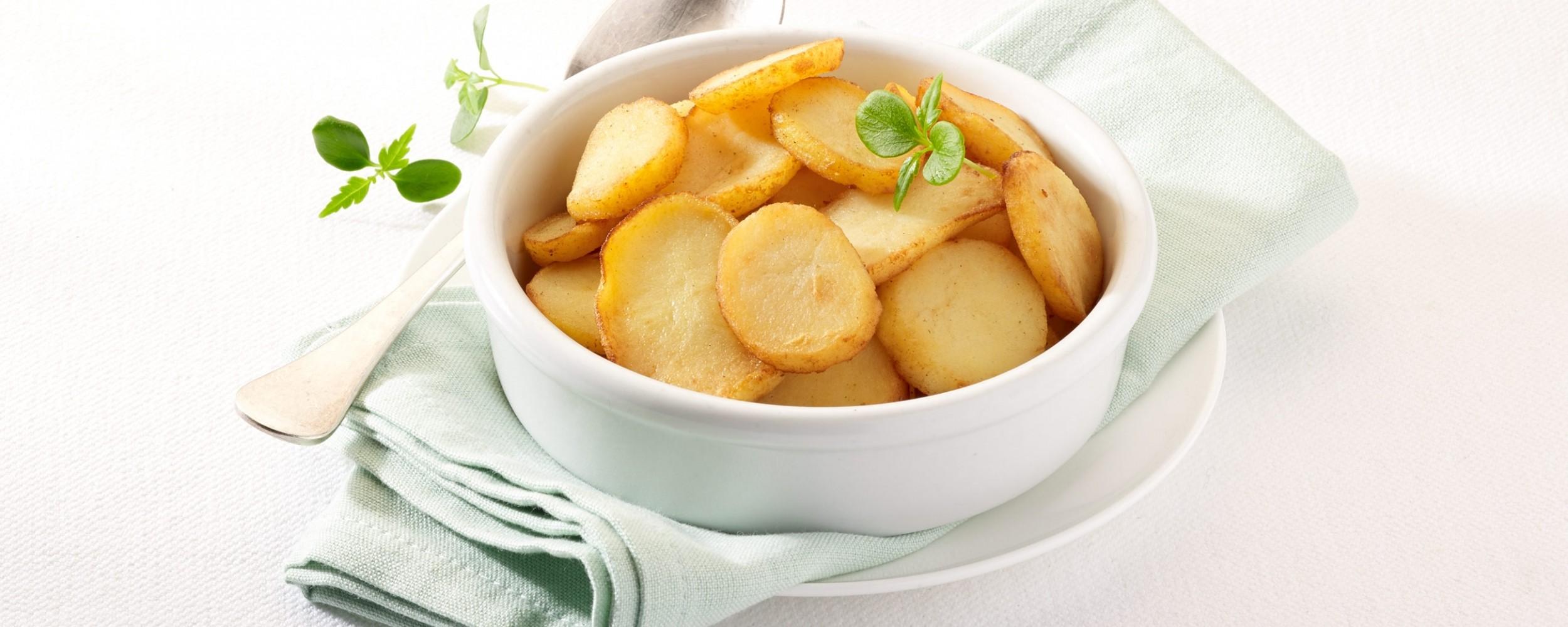 Bio aardappelschijfjes